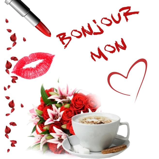 Bonjour mon amour : messages et SMS