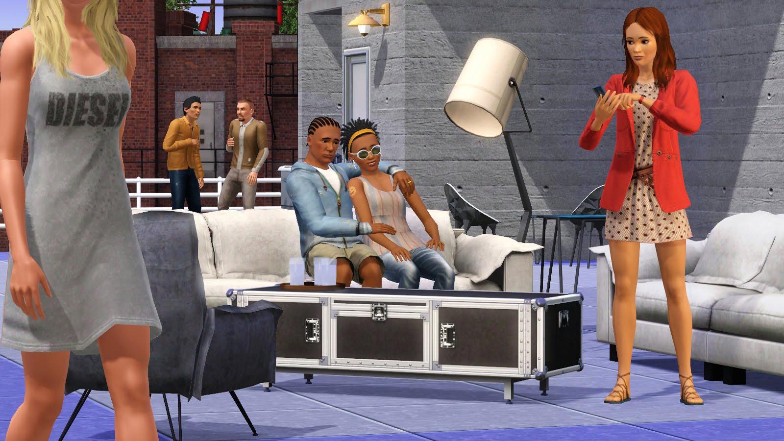 Imagenes PC los sims 3 Diesel Accesorios