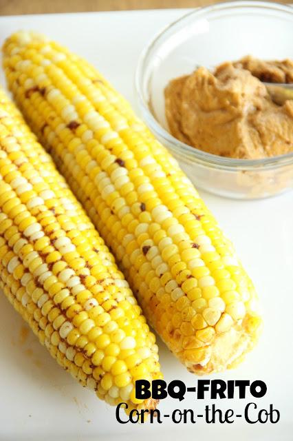 BBQ-Frito Corn on the Cob
