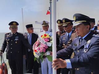 Letkol Mar Yustinus ,HUT Ke 73 TNI AL Harus Lebih Profesional Dan Berkelas Dunia.