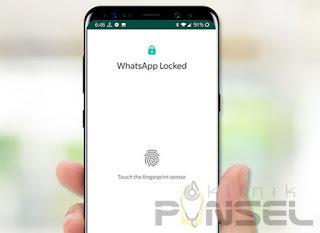 Cara Mengaktifkan Fitur Fingerprint di Whatsapp Android