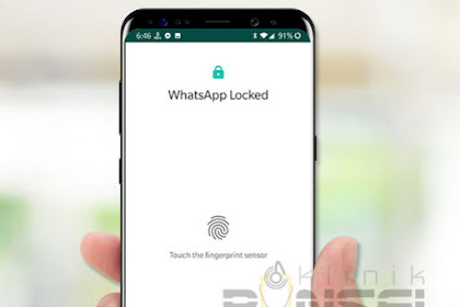 Cara Mengaktifkan Fingerprint Lock Sidik Jari untuk WhatsApp di Android