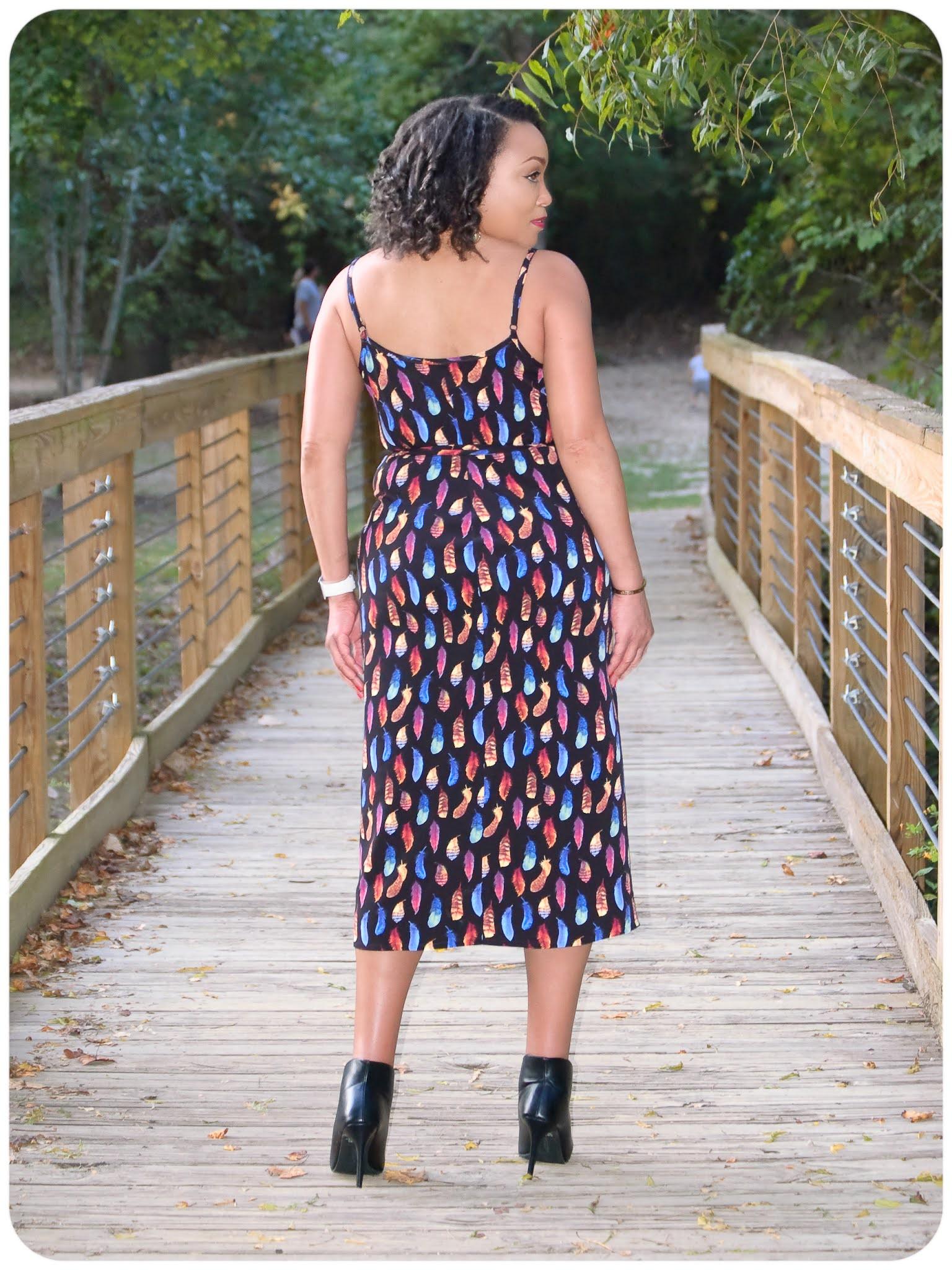 True Bias Calvin Wrap Dress - Erica Bunker DIY Style!