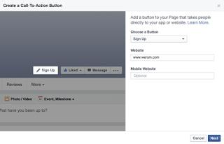 Cách tạo nút Mua ngay tiện ích cho fanpage  facebook