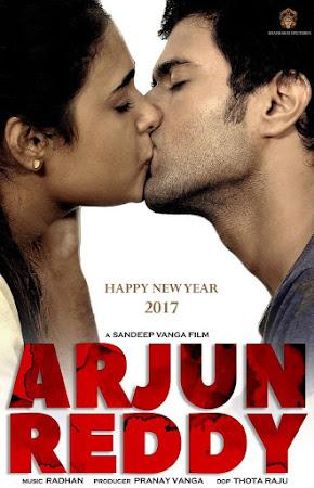 Poster Of Arjun Reddy Full Movie in Hindi HD Free download Watch Online Telugu Movie 720P