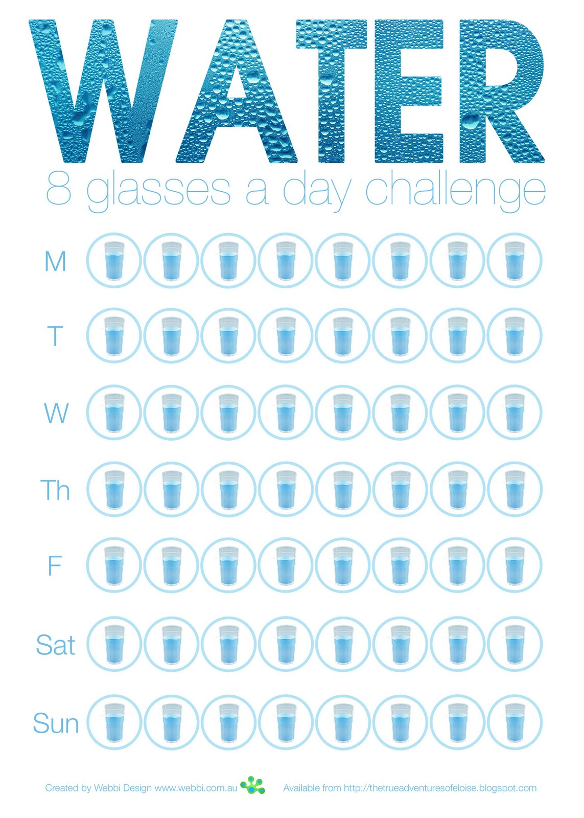 Most liquids you drink count towards the total including tea coffee juice etc but obviously there are far more benefits from drinking water than also true adventures of eloise freebie list glasses  day rh thetrueadventuresofeloisespot