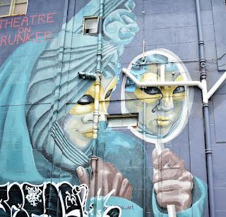 Adamstown Street Art | Mural by Aletheaarts