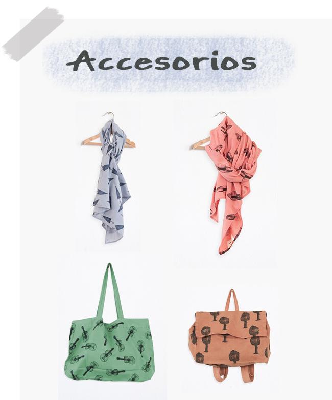 Bobo Choses ropa bolsos pañuelos
