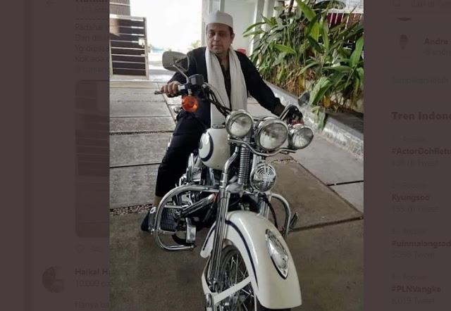 Motor Babe Haikal Hilang Diembat Maling