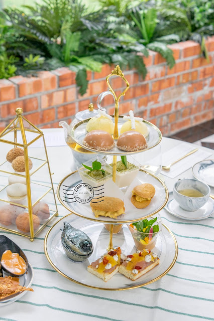 Elegant High Tea Set in Dreamy Garden Setting @ Averie Hous, Penang