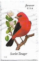 Selo Scarlet Tanager