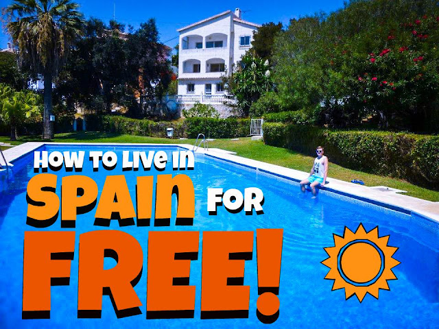 how to live in spain free
