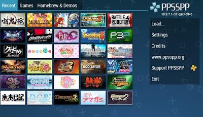 Kumpulan Game PPSSPP Android High Compres Terbaru dan Terlengkap