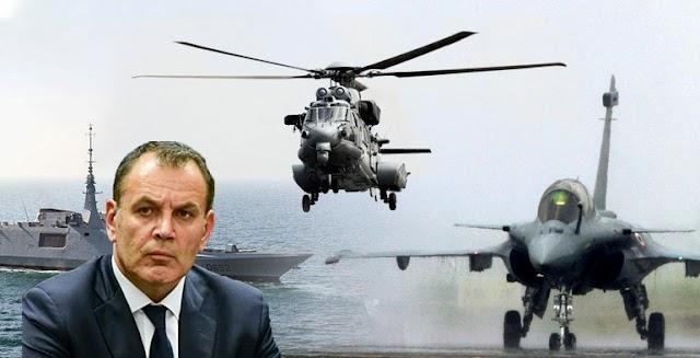 Παναγιωτόπουλος: Τετραπλασιάζεται ο προϋπολογισμός για την Άμυνα το 2021-Τι προβλέπει