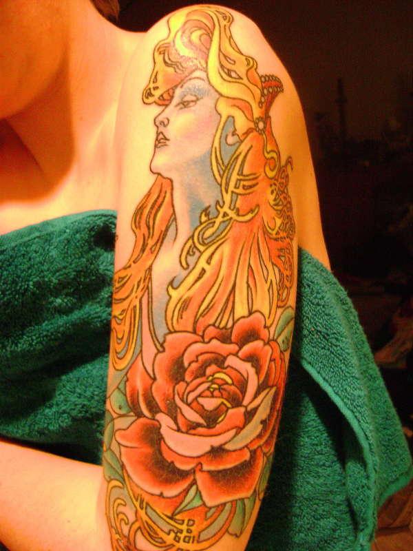 Half Sleeve Tattoos For Women Combine Blog