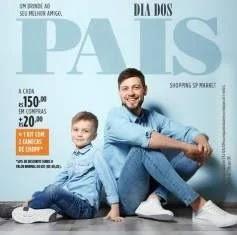 Promoção SP Market Dia dos Pais 2019 Kit Com 2 Canecas