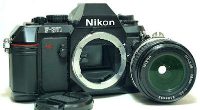 Nikon F-301 Body #000, Nikkor Ai-S 28mm 1:3.5 #492