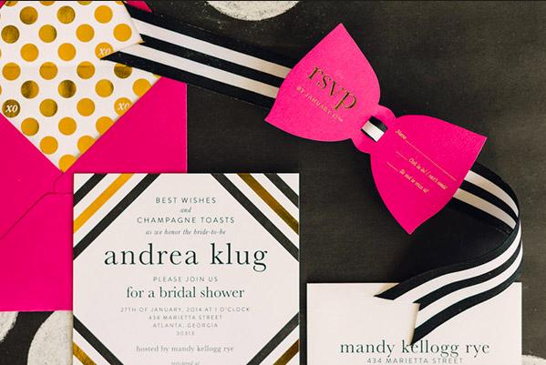 Kate Spade Wedding Invitations