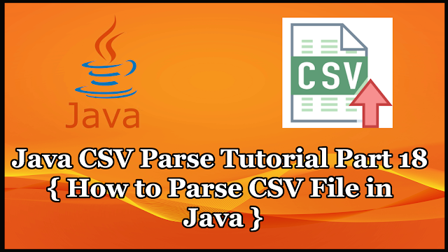 Java CSV Parser Tutorial Part 18