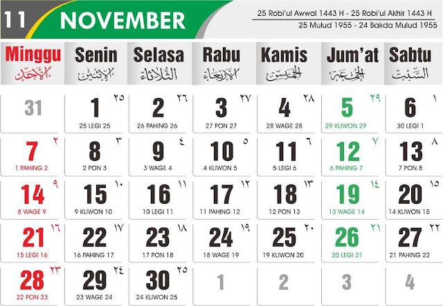 Download Kalender 2021 Lengkap dan Gratis