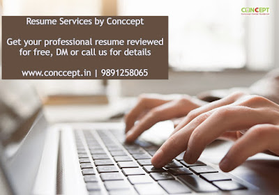 Resume services by Conccept
