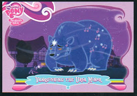 My Little Pony Vanquishing the Ursa Minor Series 1 Trading Card