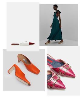 Fire farverige sko at ønske sig