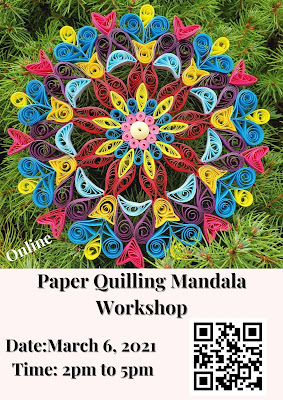 Paper Quilling Mandala Workshop