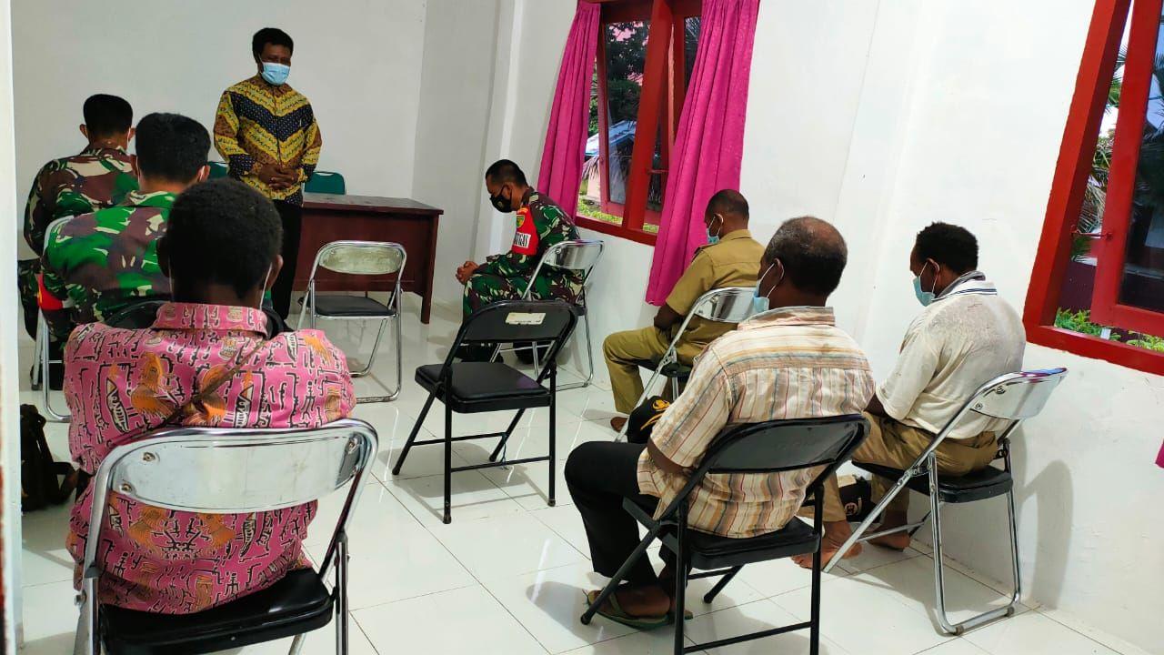Warga Boven Digoel Gelar Syukuran TNI Manunggal Membangun Desa