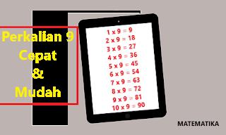 Tabel Perkalian 9