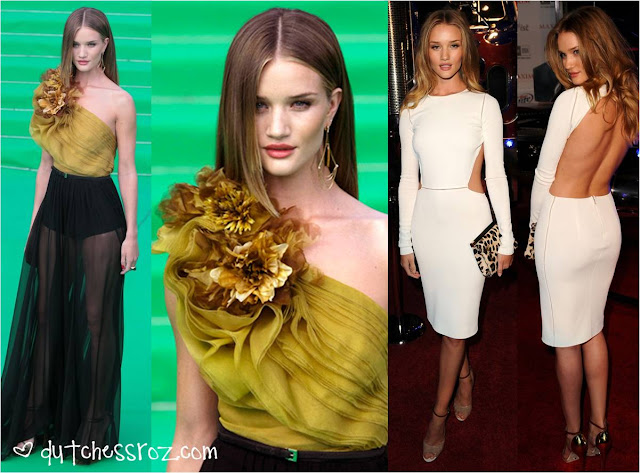 Rosie3 Rosie Huntington Whiteley Red Carpet Style