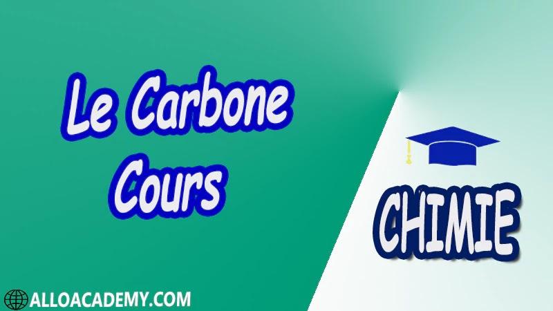 Le Carbone ( Chimie Minérale ) - Cours pdf
