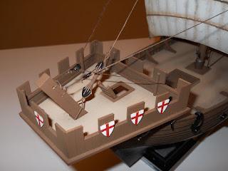 castillo de proa del barco