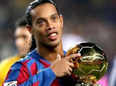 Ronaldinho, salah satu dari 20 pemain sepakbola terkaya di dunia