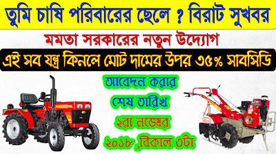 West Bengal Financial Support Scheme for Farm Mechanization