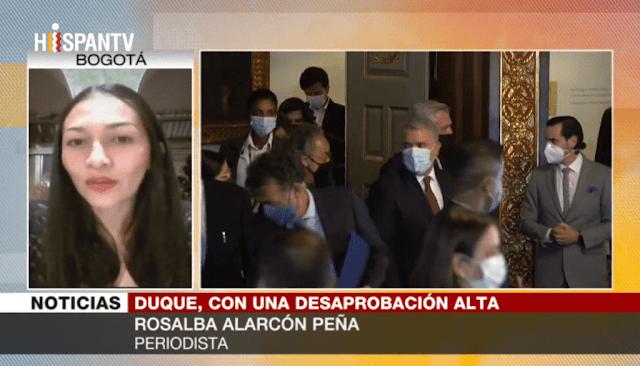 Alarcón Peña: Iván Duque vino a cumplir el mandato de las mafias