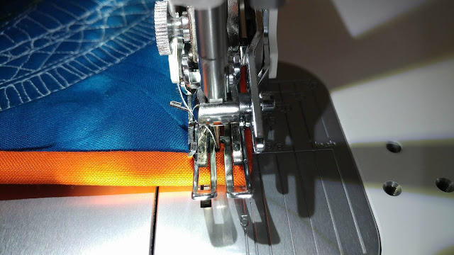 Bind a quilt by machine tutorial