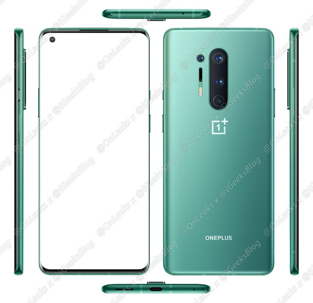 OnePlus 8 and OnePlus 8 Pro leak specs
