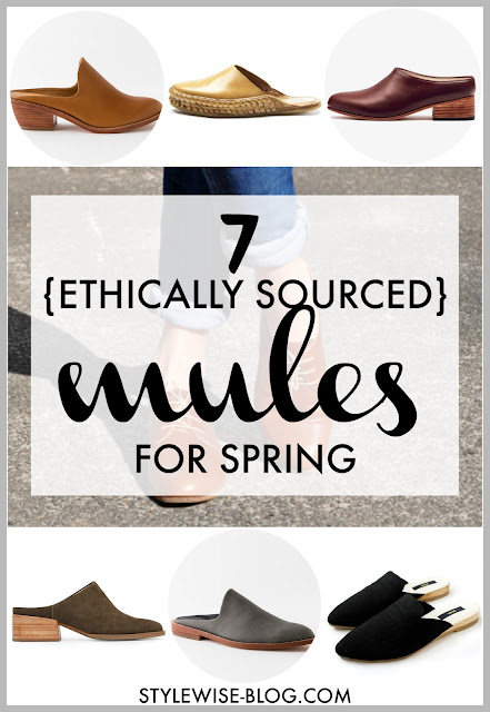 ethical mules for spring 2018