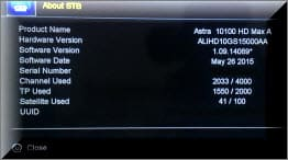 احدث ملف قنوات ASTAR 10100 HD MAX