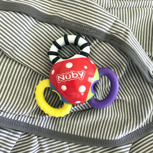 Nuby Twista Ball Teether  | The Beauty Puff