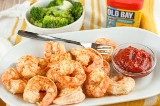 Old Bay Steamed Shrimp