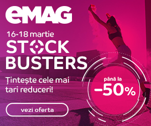 EMAG Stock Busters 16-19.03 2021→ pana la 50% reducere