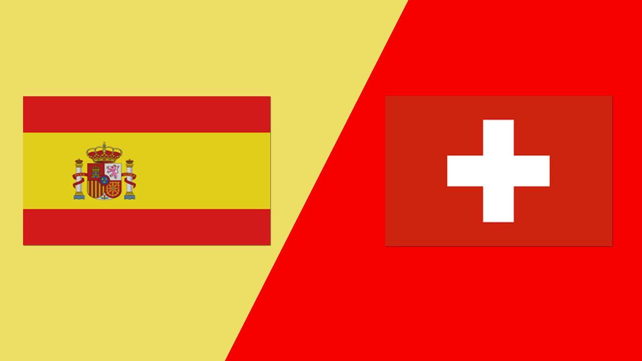 اسبانيا وسويسرا