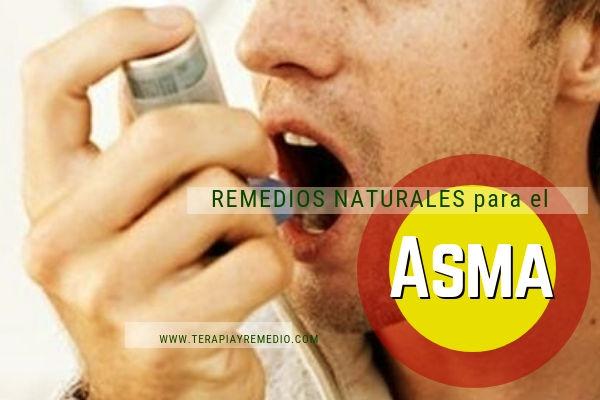 Remedios naturales para el tratamiento del asma y la tos asmática