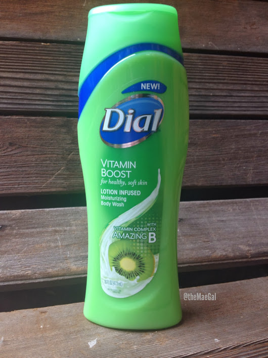 Review & Giveaway: Dial Vitamin Boost Body Wash | Ends 3/10