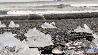Islande : Glacier lagoon