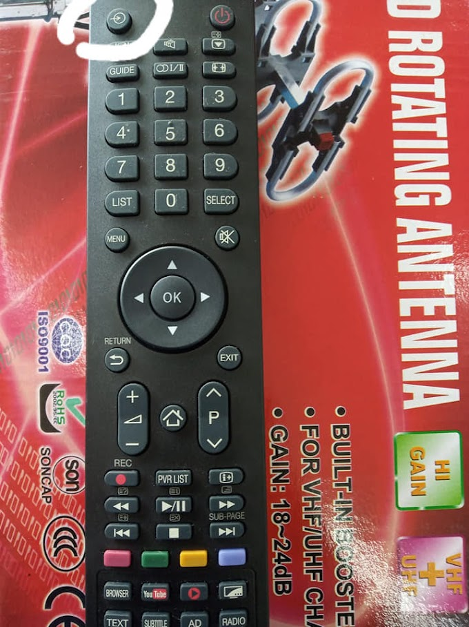 Cara Setting MyTv/MyFreeview Untuk TV Toshiba Built-In Decoder
