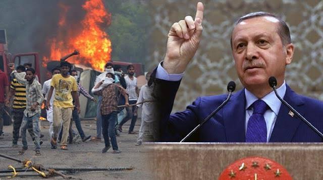 Presiden Erdogan Kecam Keras Kerusuhan di India
