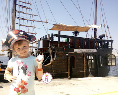 Как можно на корабле отметить день рождения в пиратском стиле